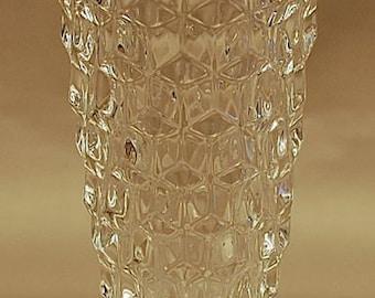 "Fostoria ""AMERICAN"" crystal 6 inch cupped bud vase ca. 1940-82"
