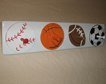 "Little tykes "" all sports "" coat rack"