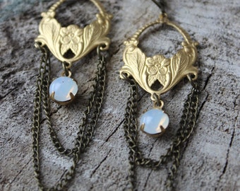 Boucles style vintage // Earrings vintage style (BO-854)