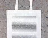 Pi - Natural Canvas Tote Bag