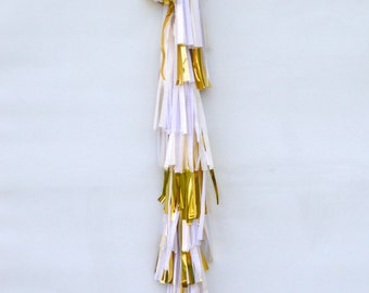Champagne Cocktail | Tissue Tassel Tower