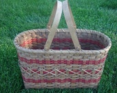 Custom Listing Crafter's Tote basket  -  for Nancy