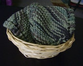 Knit Knitted Dishcloths Washcloths Camouflage