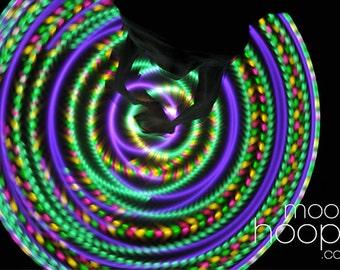Julep LED hoop, by Moodhoops