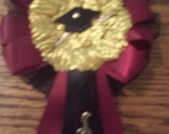 Custom  Graduation    corsage and25 graduation capias/guest pins