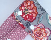 Boho Flowers Teething/Drool Pads for Baby Carrier - perfect for Ergo, Beco, Tula