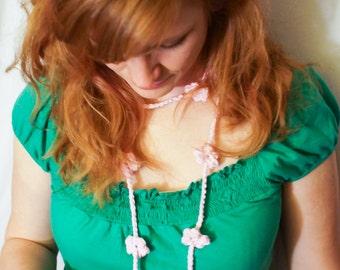 Flower Power Garland Necklace