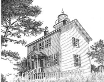 Yaquina Bay Lighthouse - Note Card Package
