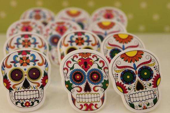 Mexican Decorated Skulls Mexican Sugar Skull Cupcake