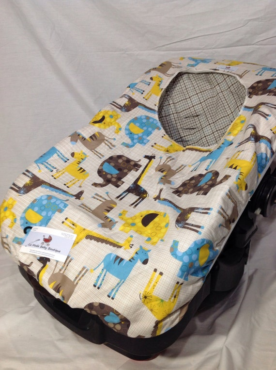 Fleece Lined Infant Car Seat Cover