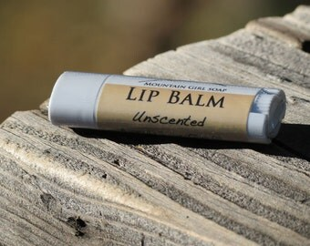 Unscented Lip Balm - Handmade Vegan