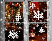 Snowflake - Removable Wall Vinyl Decal