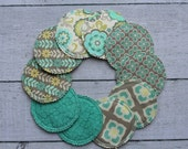 Organic Nursing Pads w Bamboo and PUL/ 10 pads/ COMPLIMENTARY SHIPPING/ As Seen on Zulily