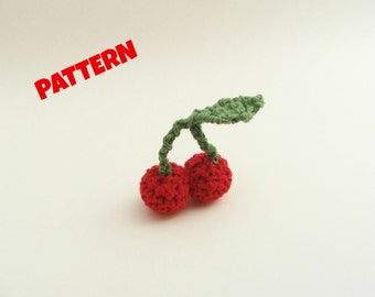 Crochet Fruit Pattern / Crochet Food Pattern / Amigurumi Food Pattern / Crochet Play Food Pattern / Play Food Pattern / Halloween Patterns