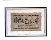 Little House Needleworks: Winter Wonderland - Cross Stitch Pattern