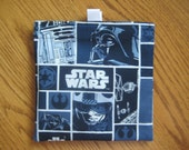 TRY ME SALE - One Bag for 2.20 - Reusable Snack or Sandwich Bag with easy open tabs- Star Wars