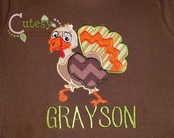 Turkey Shirt, Personalized