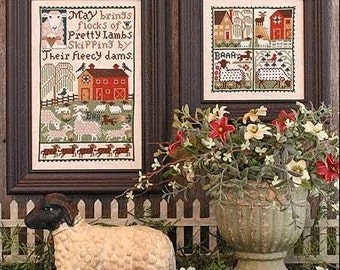 May Book No. 168 : Prairie Schooler counted cross stitch patterns mother's day hand embroidery