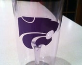 Kansas State wine 2 go cup for the Ultimate K-State fan!