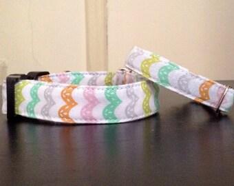 Vintage Stripes - Eco Dog Collar