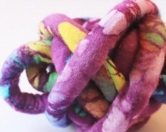 Fabric cord - Batik fabric  mc55