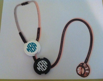 Personalized Stethoscope ID Tags - Nurse Life - RN - Doctor - Nurse -Stethoscope Cover