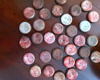 Vintage coke bottle caps
