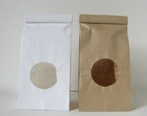 Coffee bags for cookies, cookie bags, candy, wedding favours, s'mores kits diy tin tie bags 100 or more bags