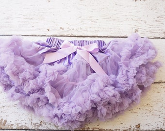Pettiskirt - Tutu - Girls FIrst birthday Outfit - Pettiskirt - Lavender pettiSkirt - sofia the 1st -Baby pettiskirt - Baby Tutu
