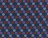 Mustang Daisies in Navy, Melody Miller, Cotton+Steel, RJR Fabrics, 100% Cotton Fabric, 0007-003