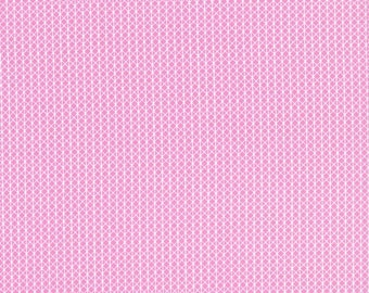 Netorious in Melody Pink, Cotton+Steel Basics, Alexia Abegg, RJR Fabrics, 100% Cotton Fabric, 5000-002