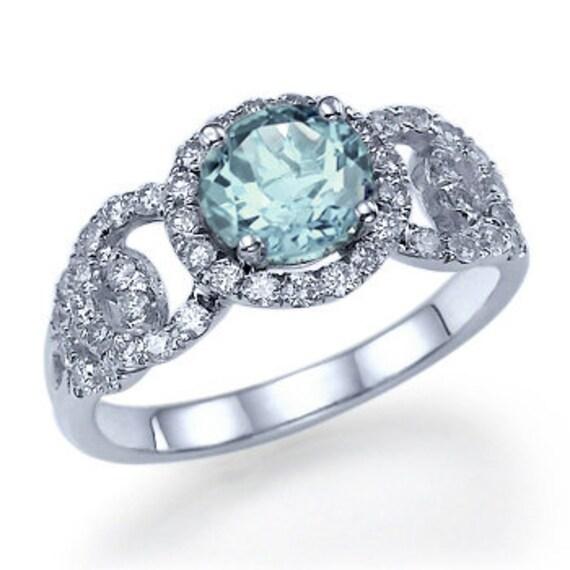 Aquamarine Wedding Bands 27 Fresh Aquamarine birthstone engagement rings