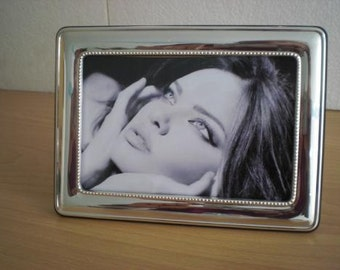 Handmade Sterling Silver Photo Picture Frame 1024 10x15 GB new