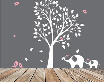 Baby Nursery Wall Decals Nursery Garden Tree Vinyl Wall Decal