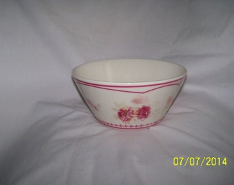 Pink And White Bowl