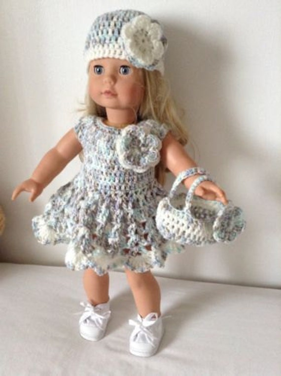 PDF Crochet pattern for 18 inch doll American Girl by ...