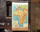Africa Vintage Wall Map