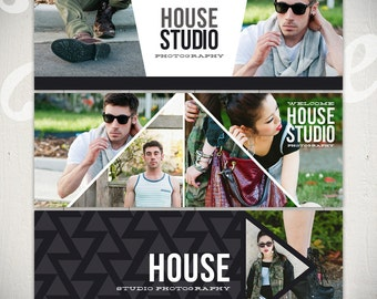 Facebook Timeline Cover Templates: House Studio - 3 Facebook Covers