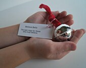 Polar Express Believe Bell - Parties, Stocking Stuffer, Ornament- Red
