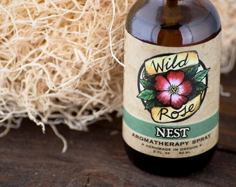NEST - Organic Aromatherapy Spray for Kids - with Lavender and Grapefruit - 60ml // 2oz
