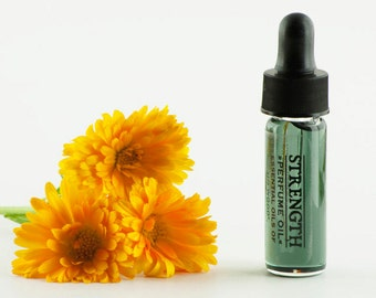 Natural Perfume Oil STRENGTH Trial Size Natural Fragrance - Floral Botanical 3.7 ml / 1 Dram