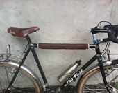 Brown Grey Top Tube Protector, bike accessory