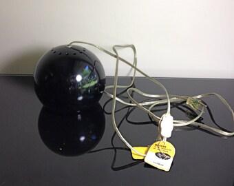 Mid Century - Raymor Black Eyeball Hanging Light