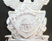 obsolete Indiana State Police badge law enforcement
