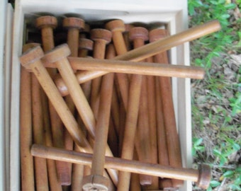 Spindles Two Types Textile Accessory Weavers Home Decor Find