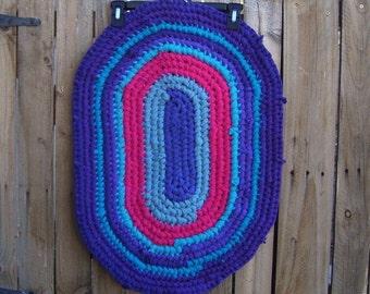 Cotton Oval Rag Rug