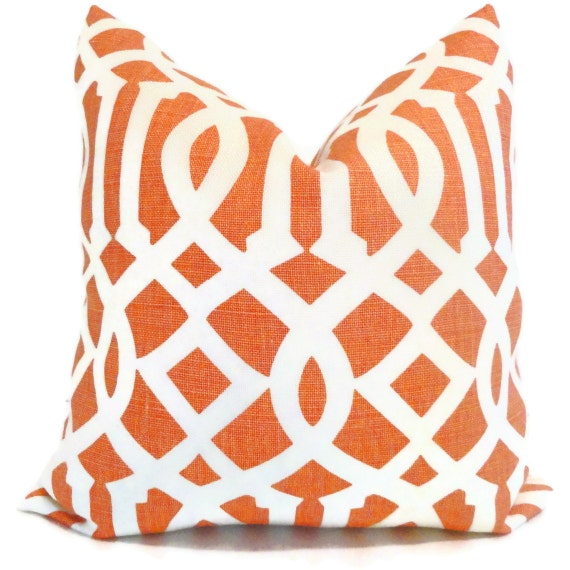 Kelly Wearstler Mandarin Imperial Trellis Pillow Covers Square, Eurosham or Lumbar Pillow, Throw Pillow, Toss Pillow