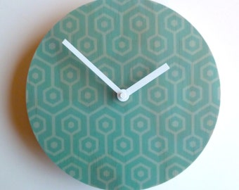 Objectify Hive Pattern Wall Clock