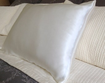 100 Pure Silk Pillowcase Light Pink Charmeuse Standard Or