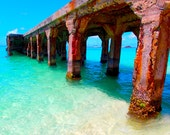 St Martin Grand Case Pier Photograph 8x10